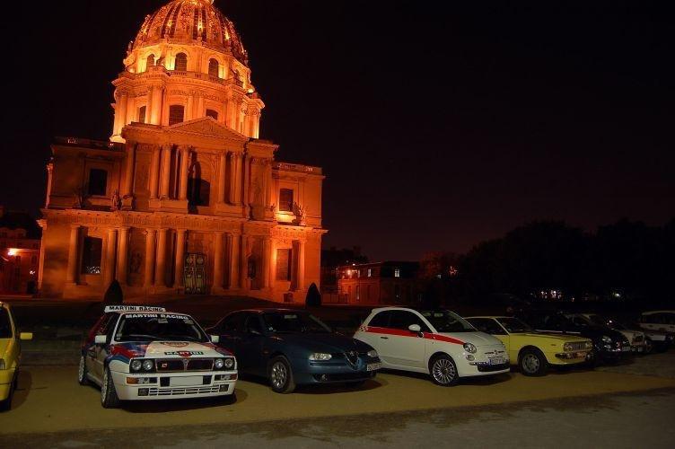 Ballade nocturne dans Paname. Italiancarsclubparisbynight20088